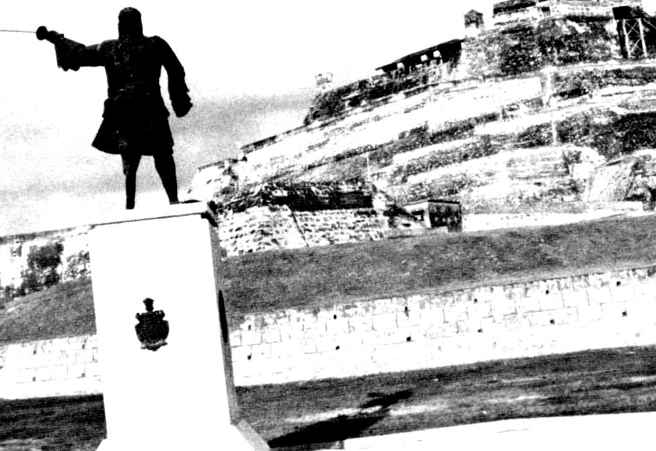 Estatua de Blas de Lezo en Cartagena de Indias, en reconocimiento a su gesta