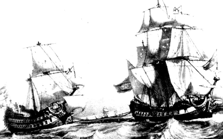 Representación de batalla naval de Blas de Lezo