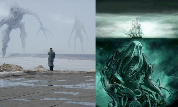Odio al mar por parte de Lovecraft