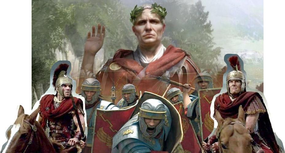 Composición Legión de Julio César